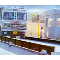 Electronics computerized weighbridges in India
