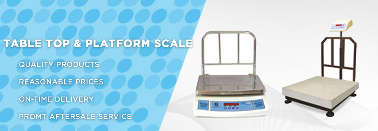 Table Top Platform Scale Manufacturers